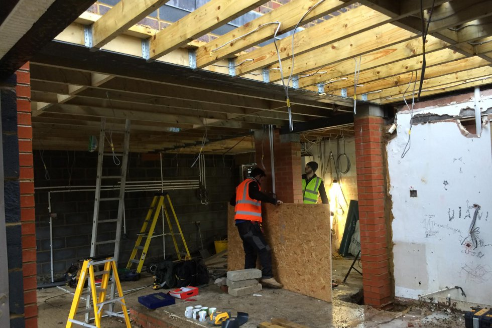 Hove Park Double Storey Extension - Phase 1